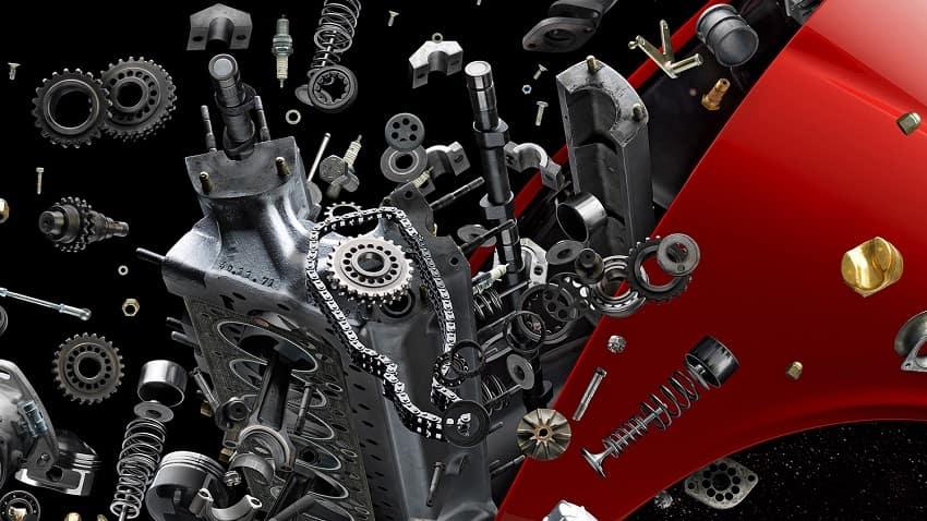 Exploding Lamborghini Miura SV after Disintegrating and Disintegrating II