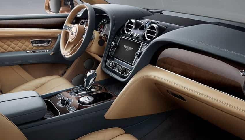 Bentley Bentayga Speed: Interior