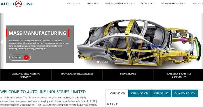 3. Autoline Industries Ltd.