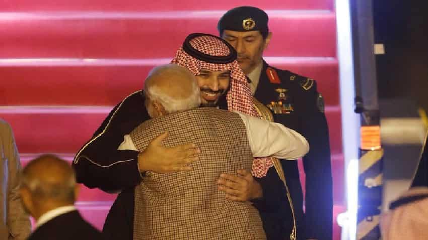Modi-Mohammed Bin Salman Meet