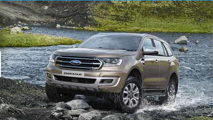 Ford Endeavour Titanium and Titanium+ models