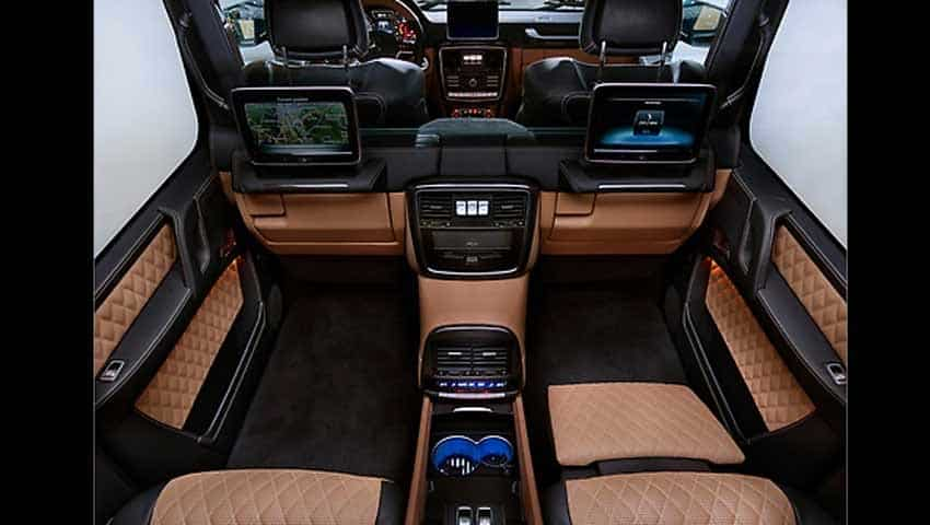 Mercedes-Maybach G 650 Landaulet: Electrically operated glass partition