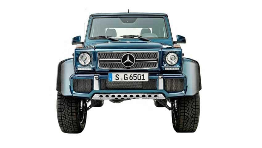 Mercedes-Maybach G 650 Landaulet: Multi-adjustable individual seats