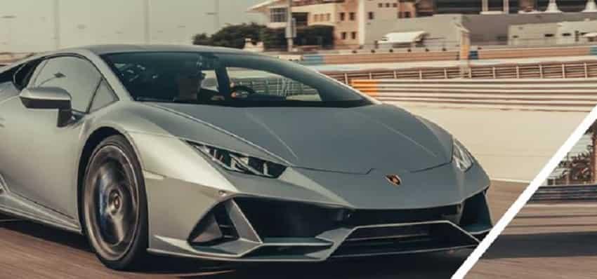 3. Lamborghini Huracan EVO Spyder convertible: