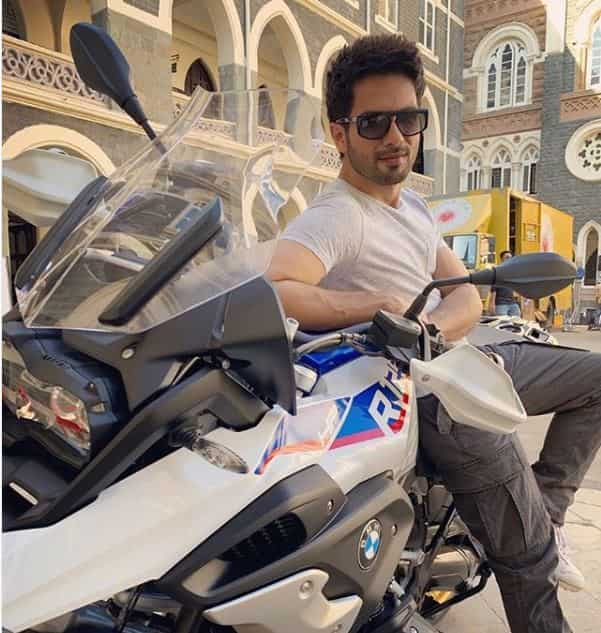 BMW R1250 of Shahid Kapoor