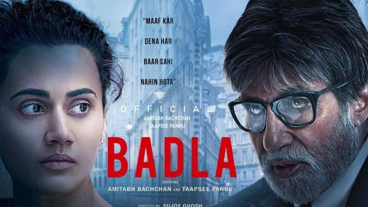 BADLA 2019 hindi 720p WebRip H264 ESubs