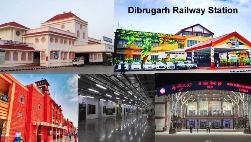 Indian Railways: Dibrugarh Station