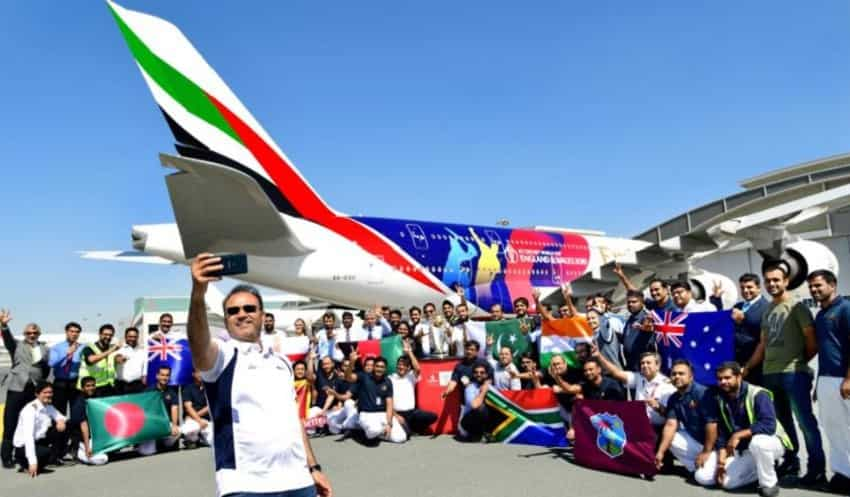 Emirates serves nine nations in WC