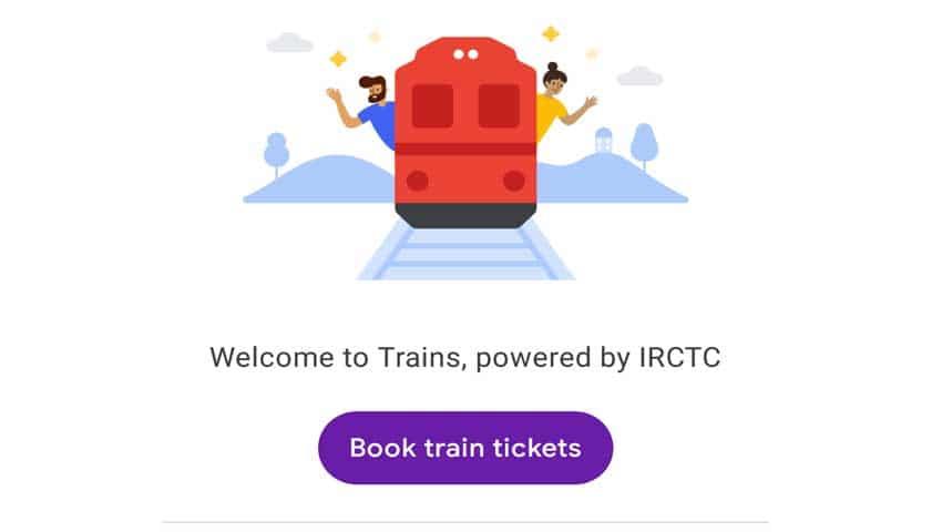 Google Pay: IRCTC