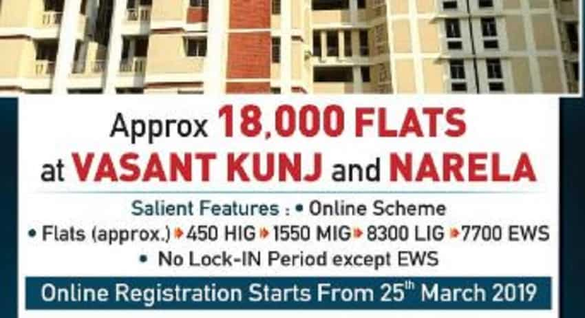 DDA flats booking 2019: Over 18,000 houses on sale in Delhi