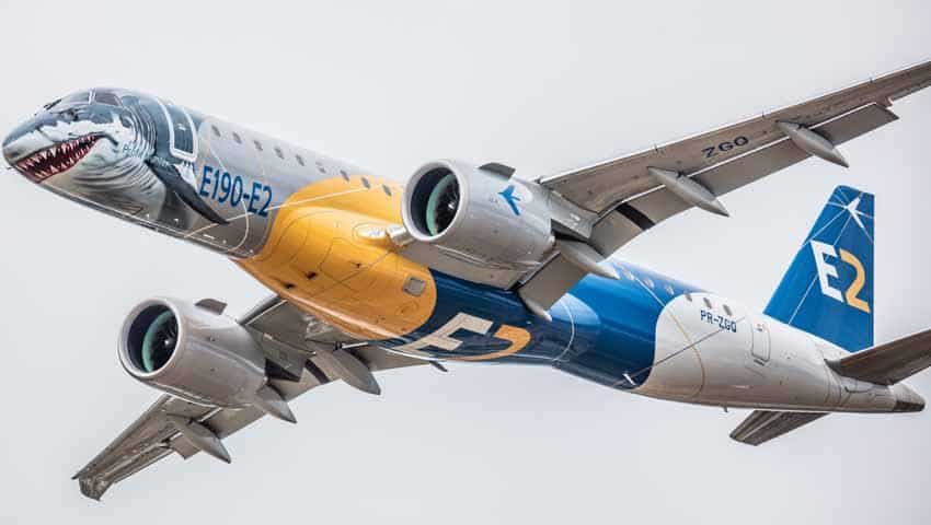 Embraer E190-E2 Jet: Lower operating cost