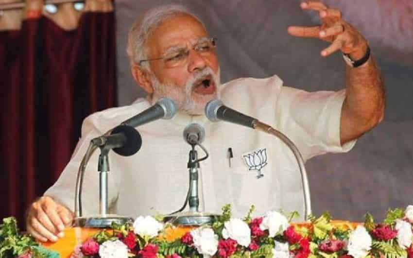 Lok Sabha elections 2019: Narendra Modi in 2014