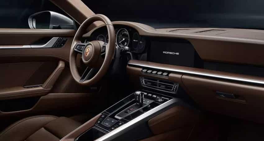 New Porsche 911: Interiors