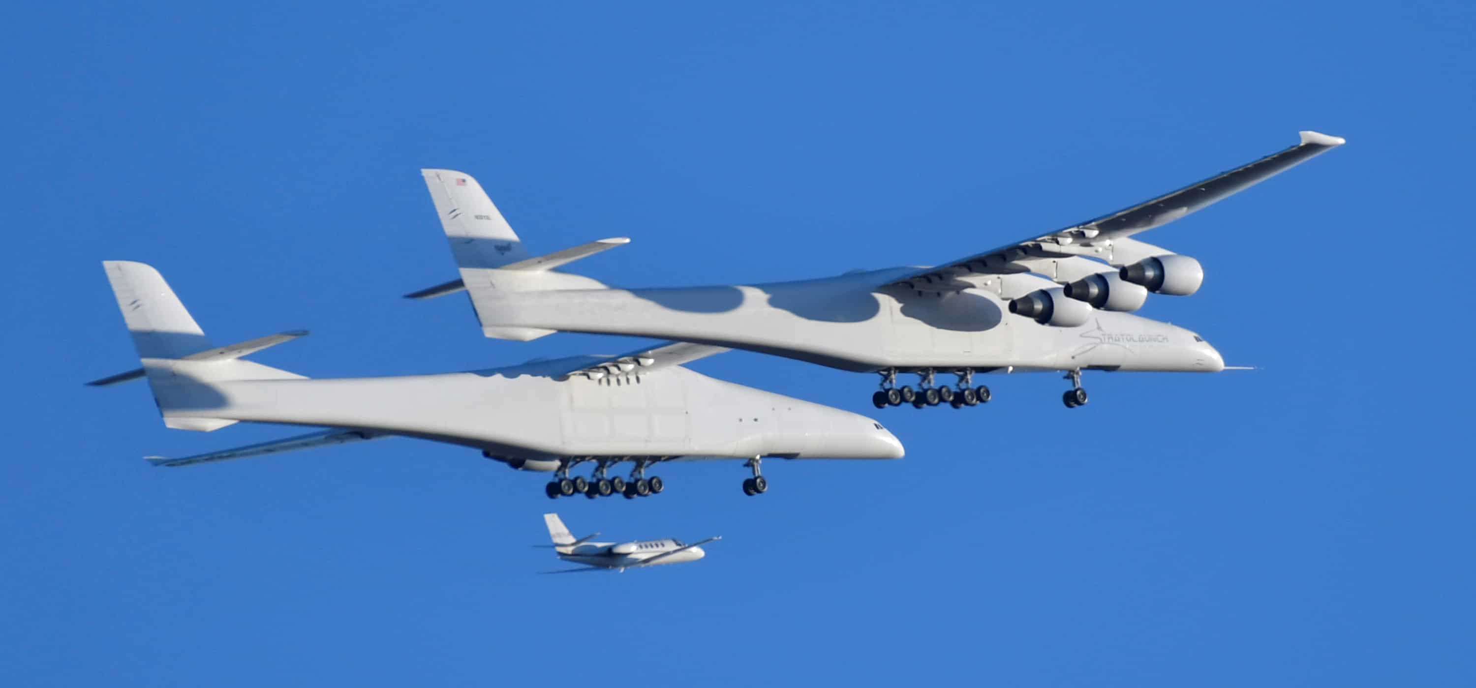 World`s largest aircraft Roc:Has wingspan length of a football field