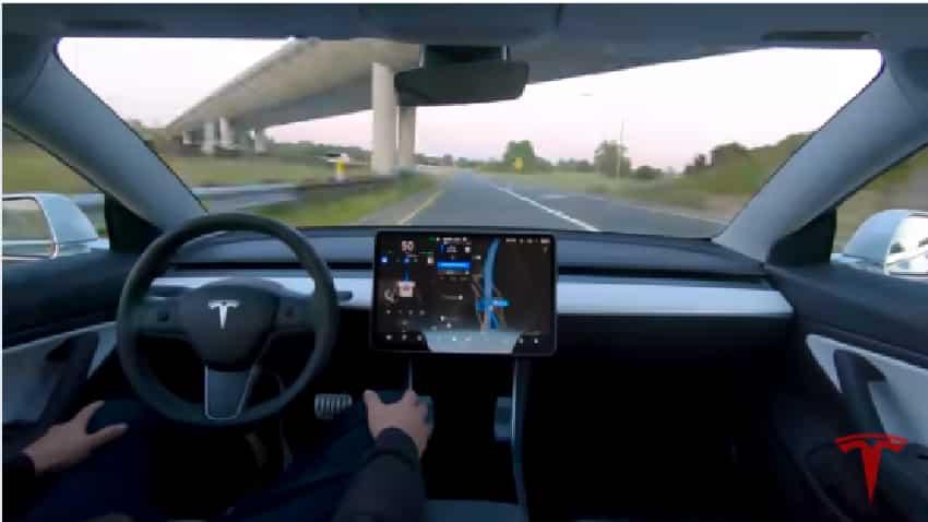 Tesla self-driving car timeline 2016