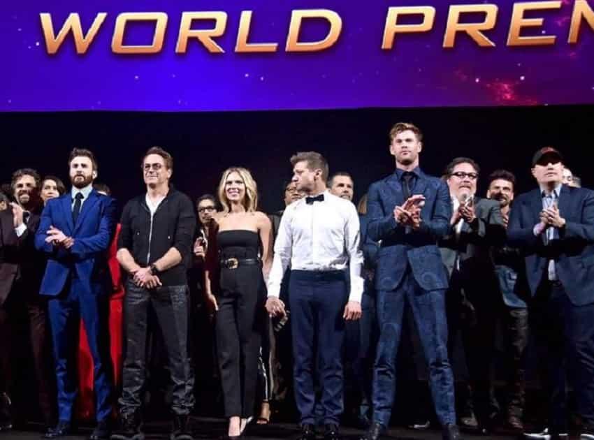 Avengers: Endgame cast: