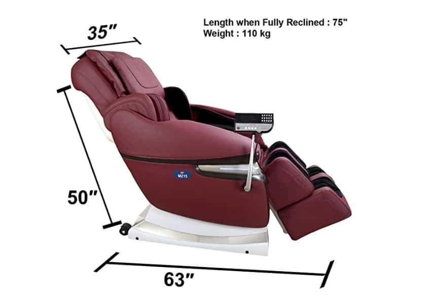 Full body massage chair: