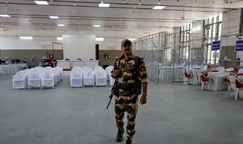 Security at vote counting centres: