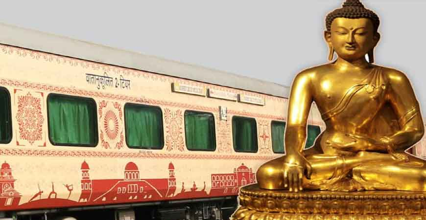Buddhist sites to attract more passengers for BuddhistCircuitTouristTrain