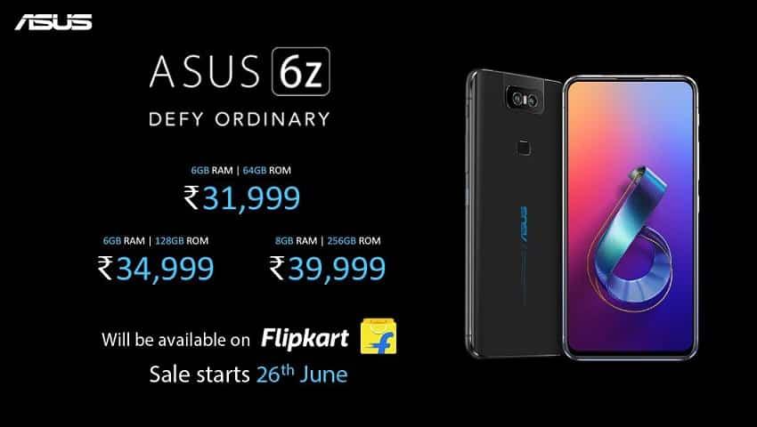 Asus 6Z price in India