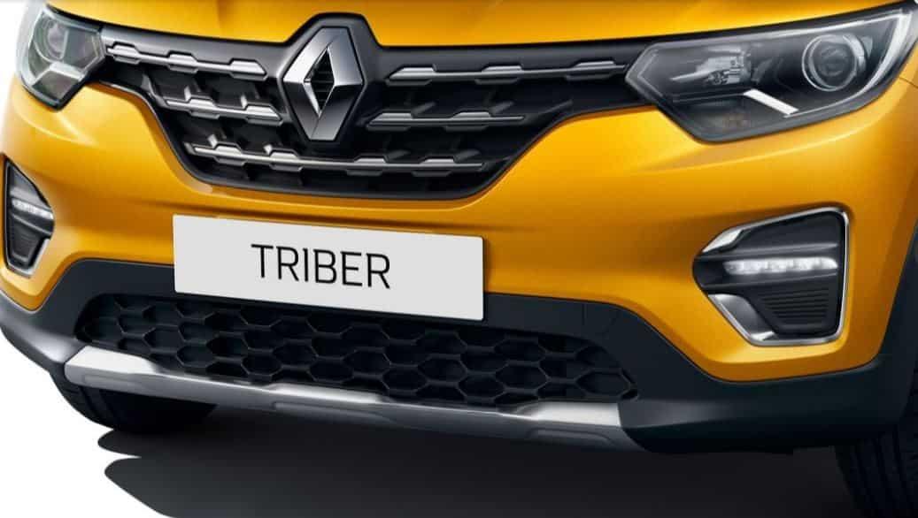 Renault Triber: Attractive exteriors