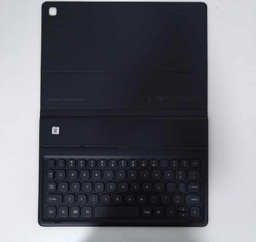Samsung Galaxy Tab S5e: Keyboard cover