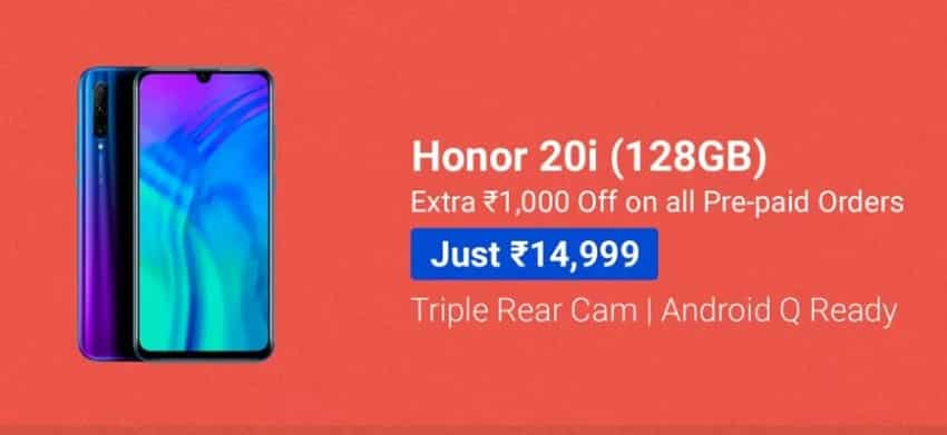 Honor 20i and Honor 20