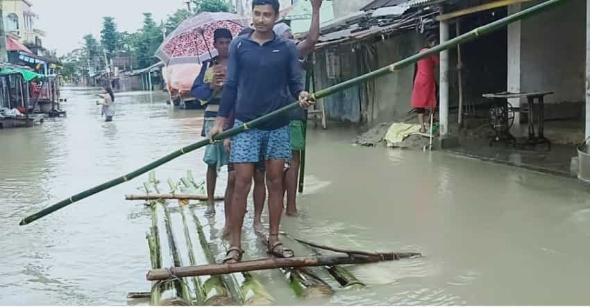 Image result for floods in bihar 2019
