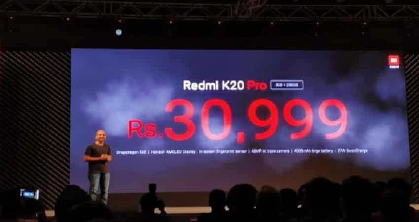 Redmi K20, K20 Pro price in India