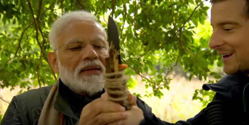 Excited to spend time with the PM: Bear Grylls