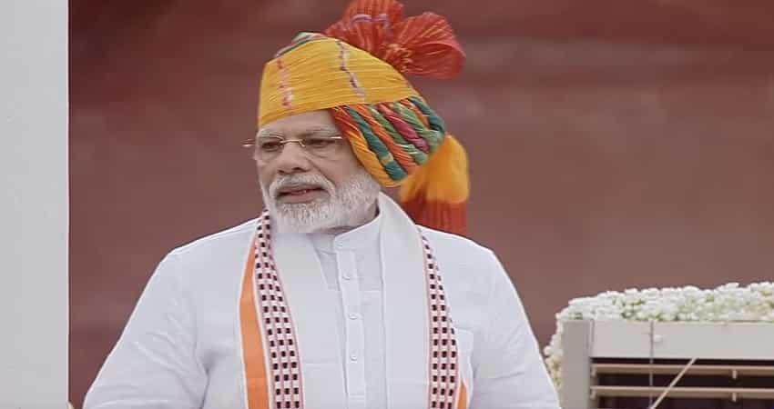 Modi speech: Dedicated to serve people