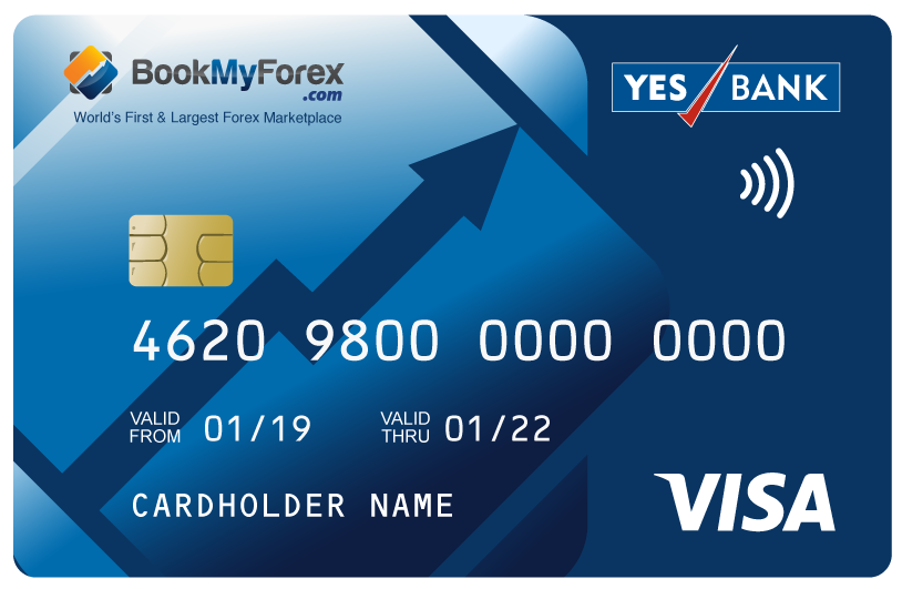 Yes bank forex card rates