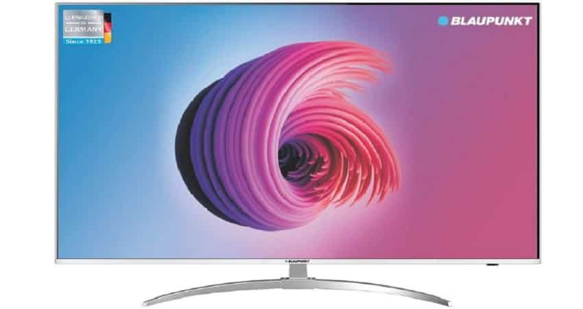 3. Blaupunkt 55 inch Ultra HD 4K LED Smart TV (Rs 34,999)