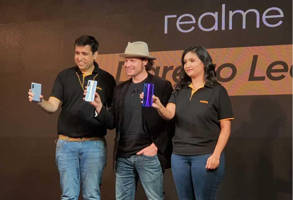 Realme XT display