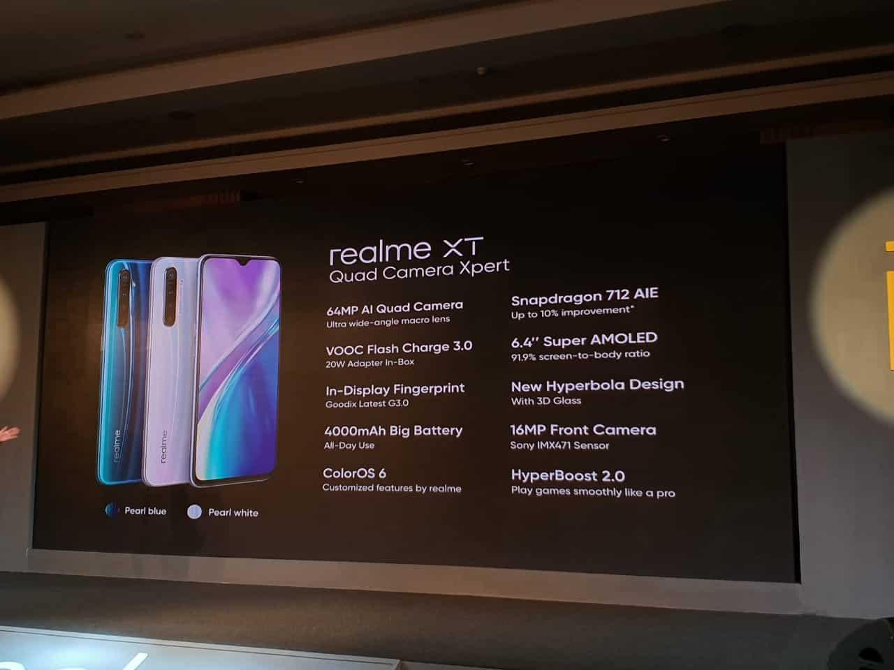Realme XT battery