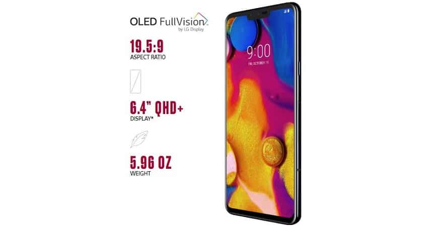 2. LG V40 ThinQ: Up to Rs 30,000 discount
