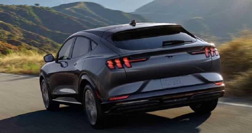 Ford Mustang Mach E range
