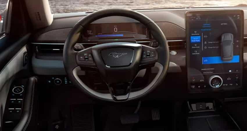 Ford Mustang Mach E infotainment