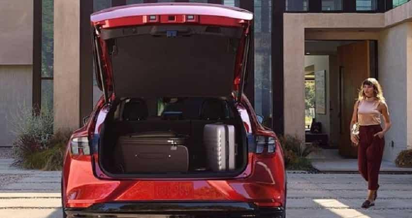 Ford Mustang Mach E haul capacity