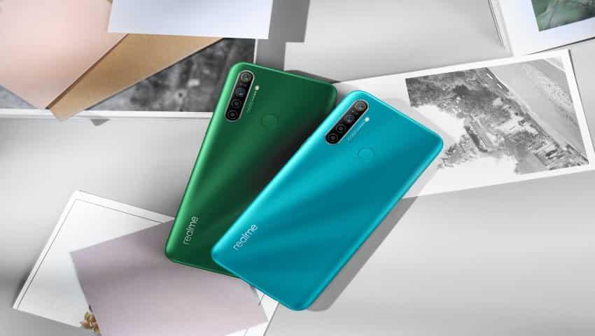 Realme 5i smartphone design