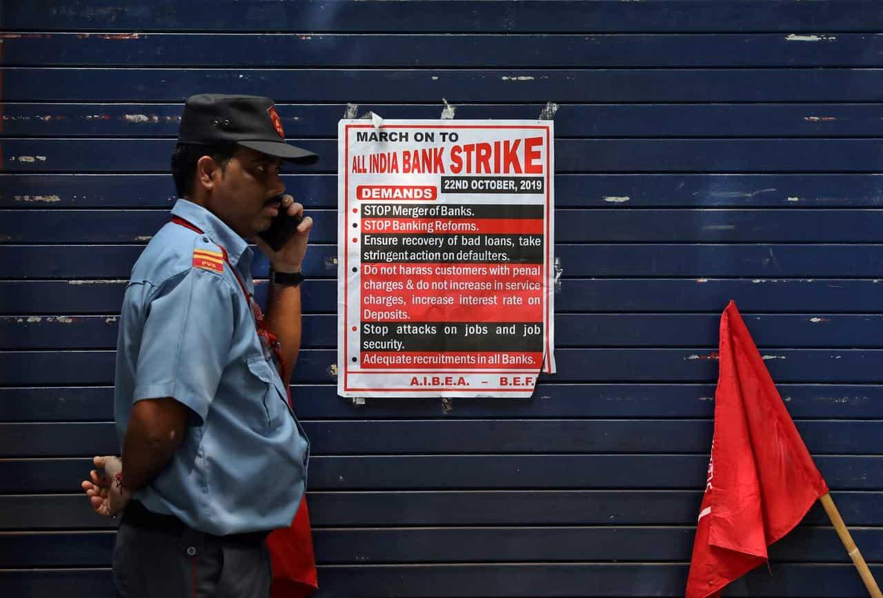 Bank strike in Jan 2020