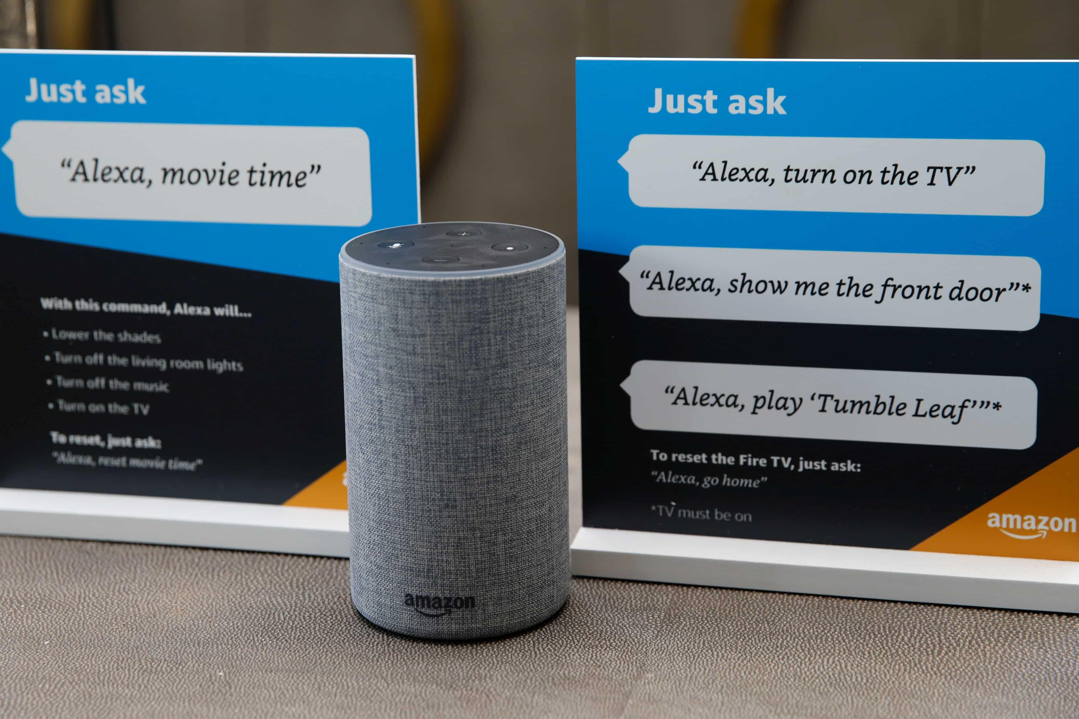 Alexa helps you beat the stress.