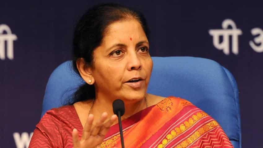 Nirmala Sitharaman on relaxations