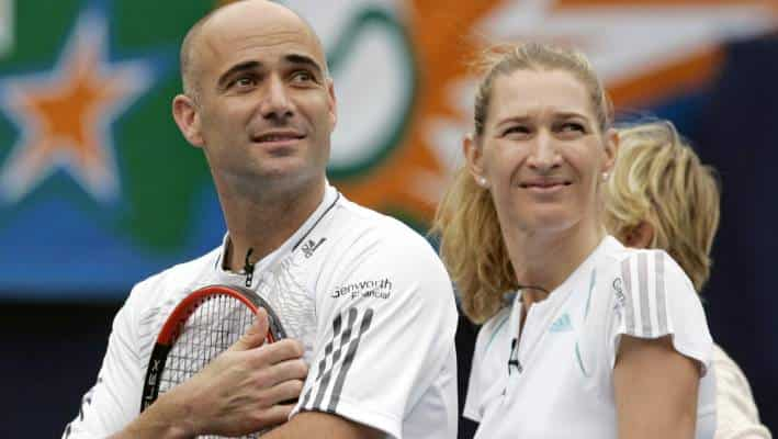 Beginning a new life with Andre Agassi