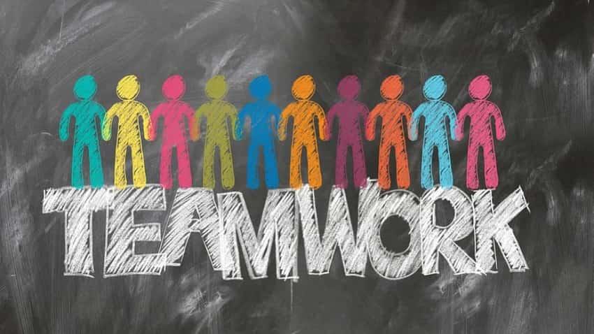 Teamwork will take you a long way