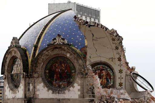 Mexico City shakes