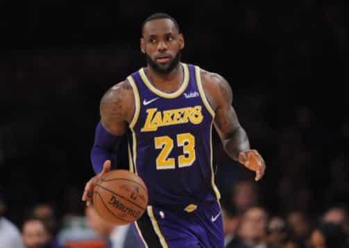 LeBron James Pay