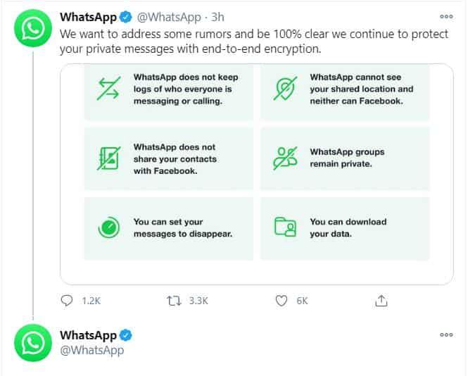 Whatsapp Private