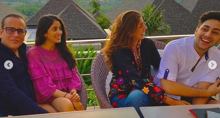 Navya Naveli and Nanda family