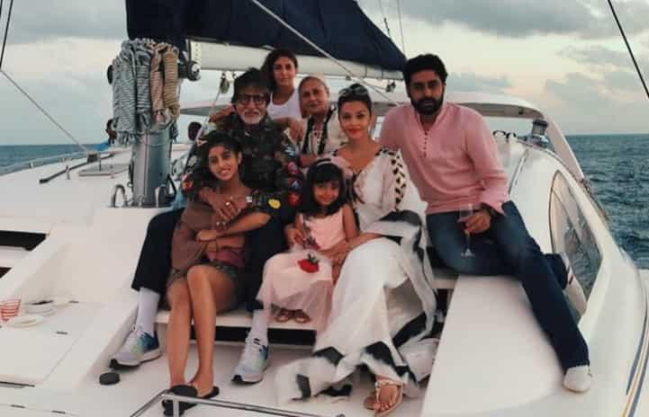 Navya holidaying in Maldives with Bachchan family
